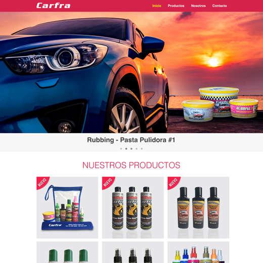 Website Carfra